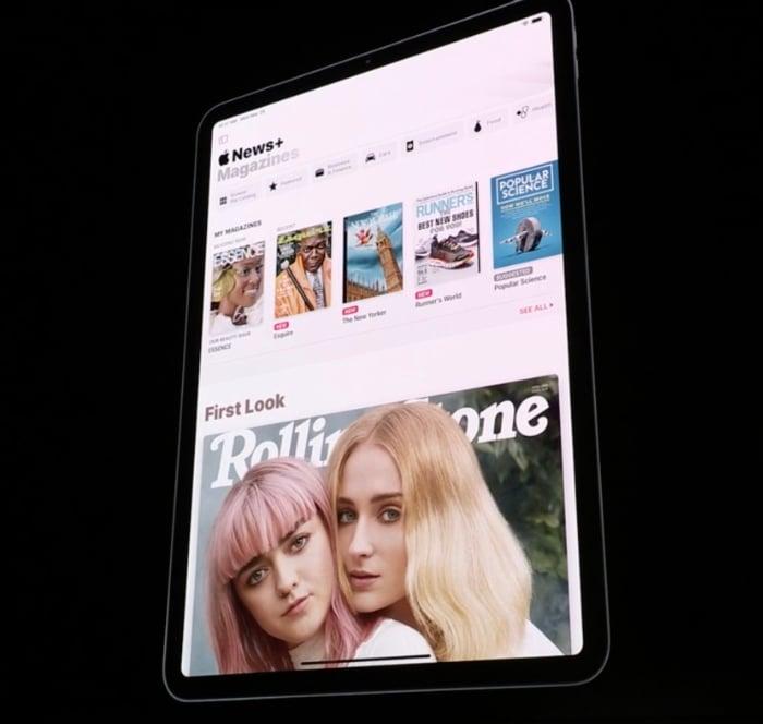 apple news plus ipad