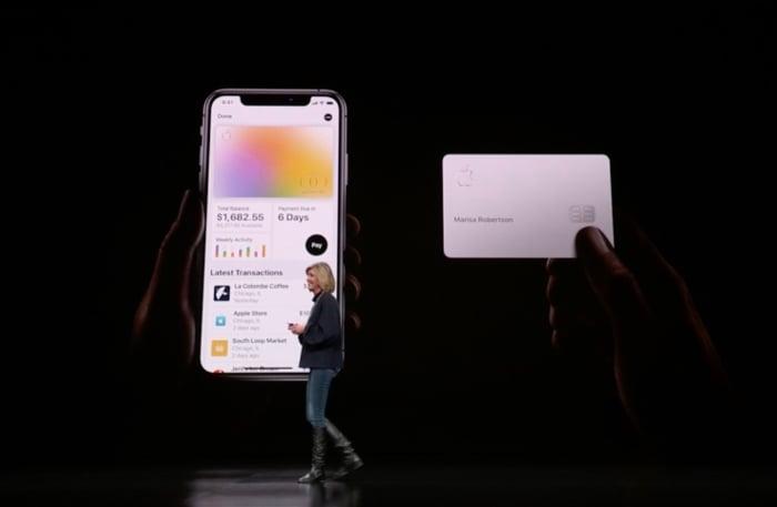 apple card banner