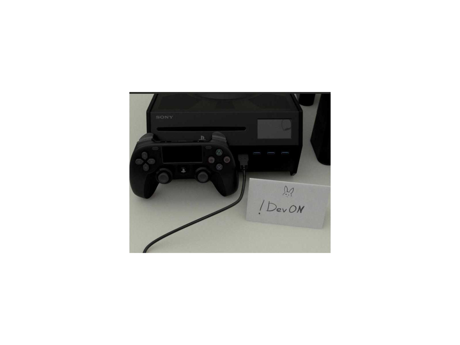 Alleged PlayStation 5 Devkit With DualShock Controller