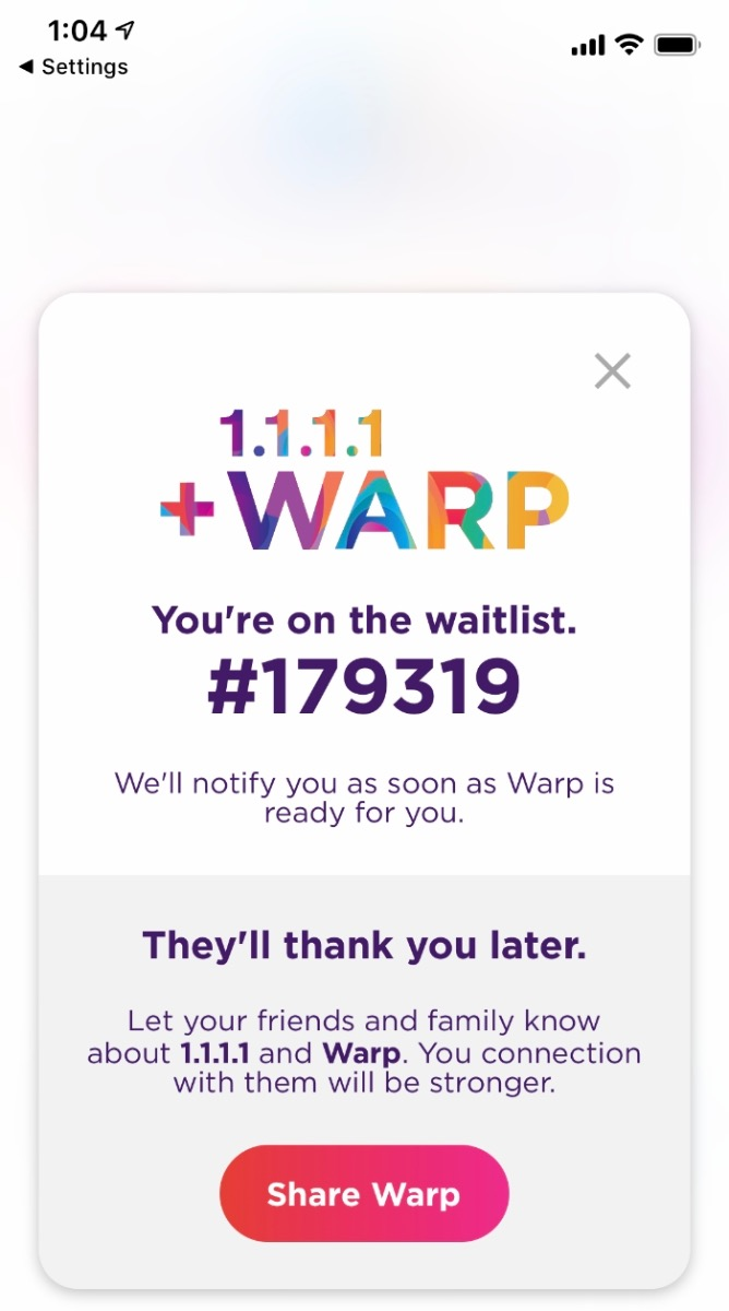 Cloudflare Launches Free Warp VPN Service For iPhones And Androids - HotHardwareCloudflare Launches Free Warp VPN Service For iPhones And Androids - 웹