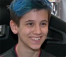 14 Year Old New York Teen Fortnite Gamer Sceptic Rakes In $200K A Year On YouTube