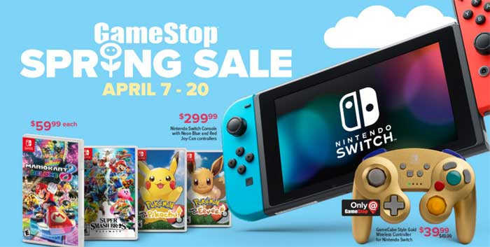 GameStop's Spring Sale Has Some Enticing Deals For Gamers | HotHardware