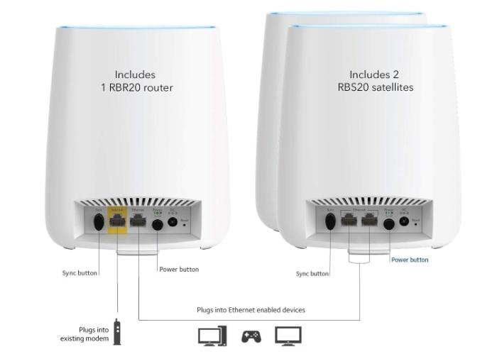 Get Netgear's Orbi RBK23 AC2200 Mesh Wi-Fi Router Kit For
