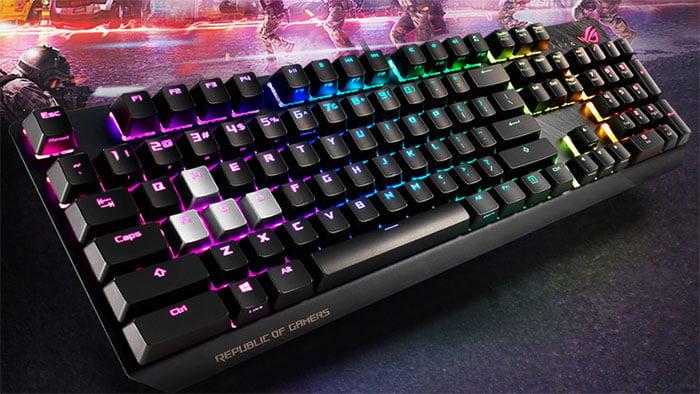 asus rog strix scope mechanical keyboard 1