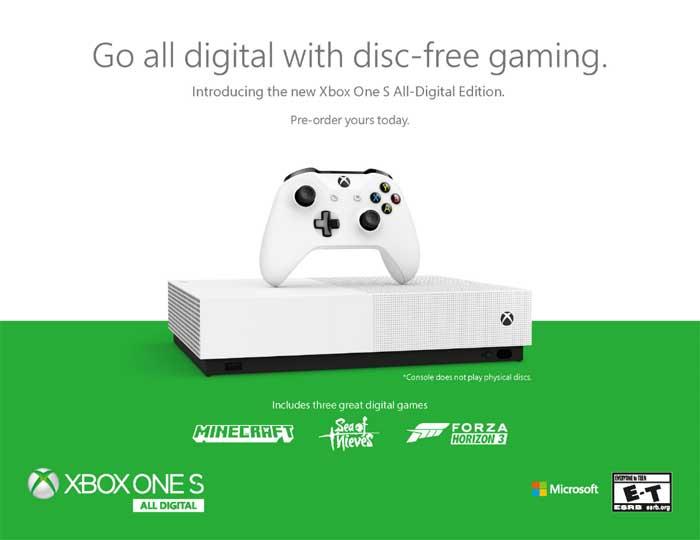 xbox one s ad