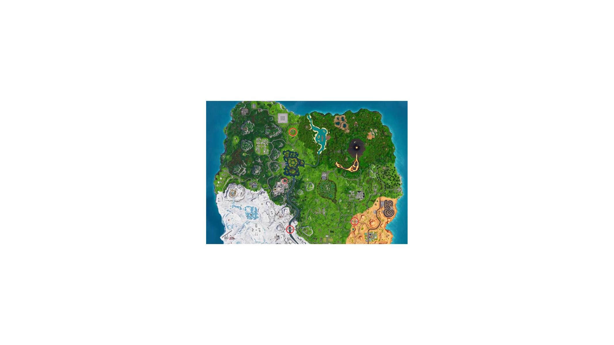Fortnite Jigsaw Puzzle Map Where To Find Fortnite Puzzles And Treasure Map Sign Posts This Week Hothardware