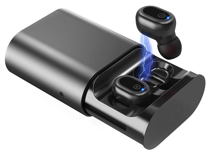 true wireless stereo bluetooth earbuds