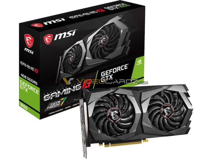 MSI, Gigabyte, ASUS, And Zotac GeForce GTX 1650 Gaming Cards Leaked Early