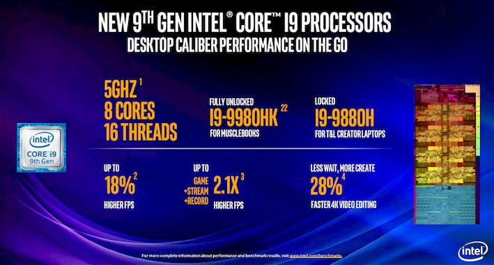9th gen mobile processor flagship