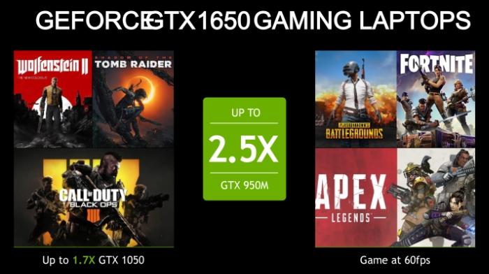 gtx turing gtx 1650 gaming