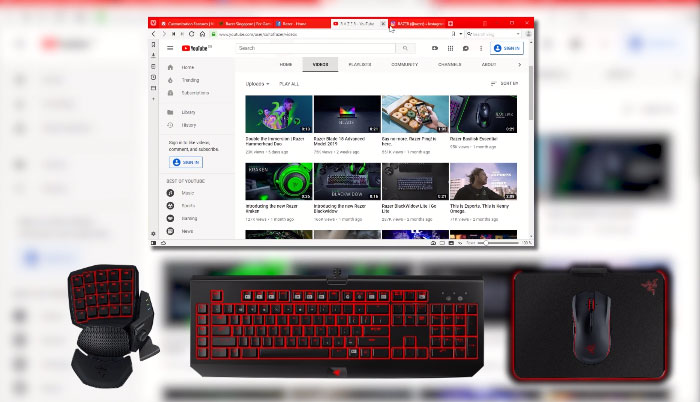 Vivaldi Web Browser Now Syncs Razer Chroma Lighting Effects