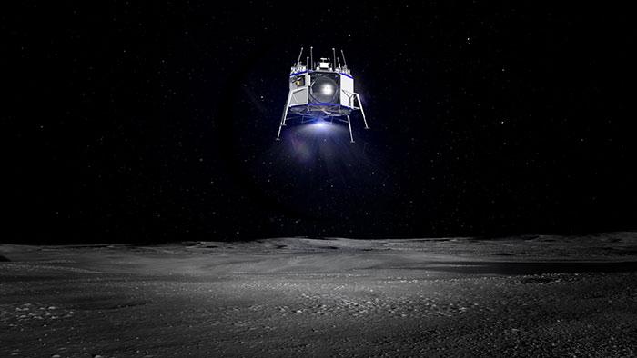 blue origin blue moon landing
