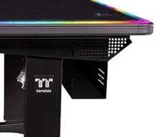 Thermaltake Level 20 RGB BattleStation Gaming Desk Could Elevate Your Game To Baller Status