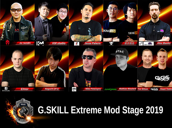 G.Skill Extreme Mod Stage 2019