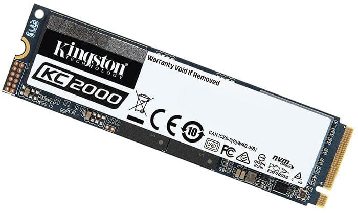 Kingston KC2000 NVMe SSD