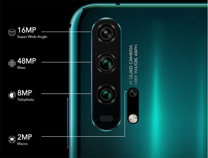 Honor 20 Pro Cameras