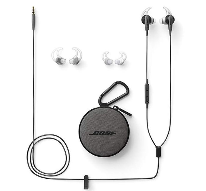 bose soundsport headphone set