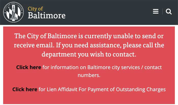 Ransomware hackers cripple Baltimore