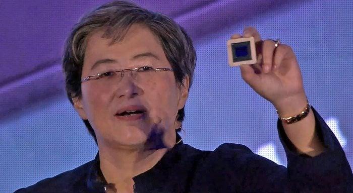 AMD Navi Chip Lisa Su