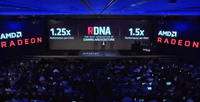 AMD RDNA speed up