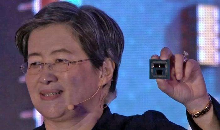 AMD Lisa Su Holds Ryzen 9 3900X 12 Core Processor