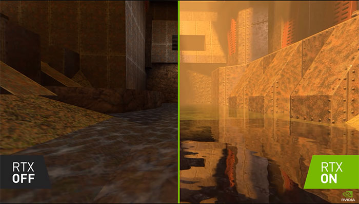 NVIDIA's Quake II RTX Full Remake In All Its Ray-Traced Glory