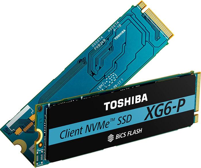 Toshiba XG6-P NVMe SSD