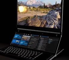 Intel Presents Wild Dual-Screen Honeycomb Glacier Gaming PC Concept At Computex