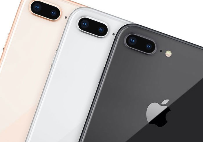 apple iphone 8 trio
