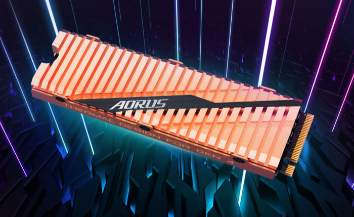 AORUS NVMe PCie 4.0 SSD