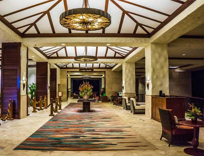 mariott hotel lobby