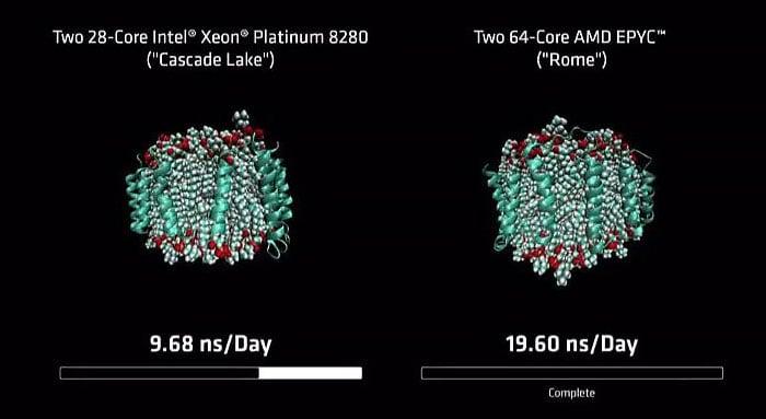AMD and Intel Benchmark Comparison