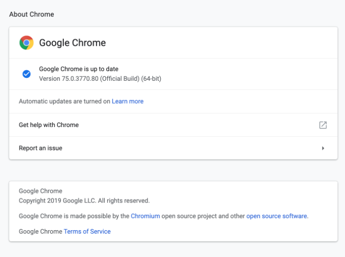 Google Chrome 75 Lands For Windows, Mac, Linux and Android With