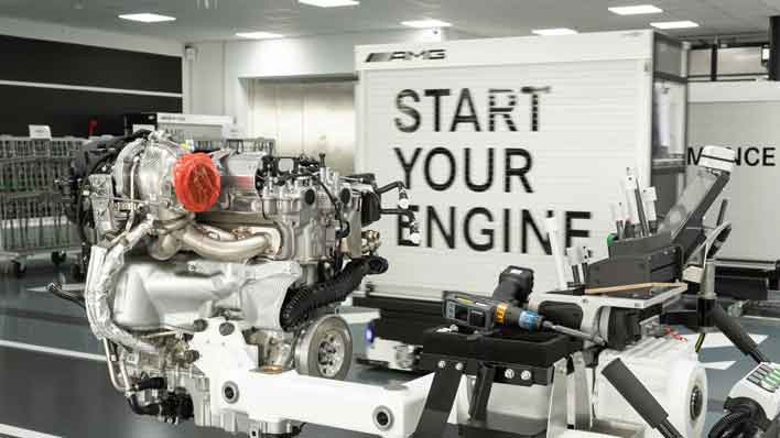 Mercedes-AMG Pumps 416HP From Its Puny Little 2 0-Liter Engine, Yah