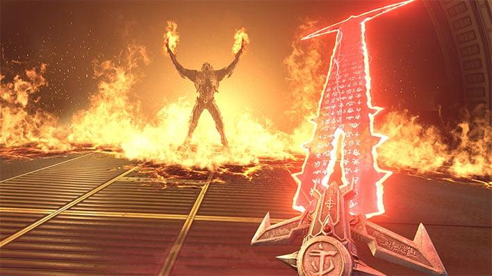 Bethesda S E3 2019 Doom Eternal Tease Showcases A Seriously