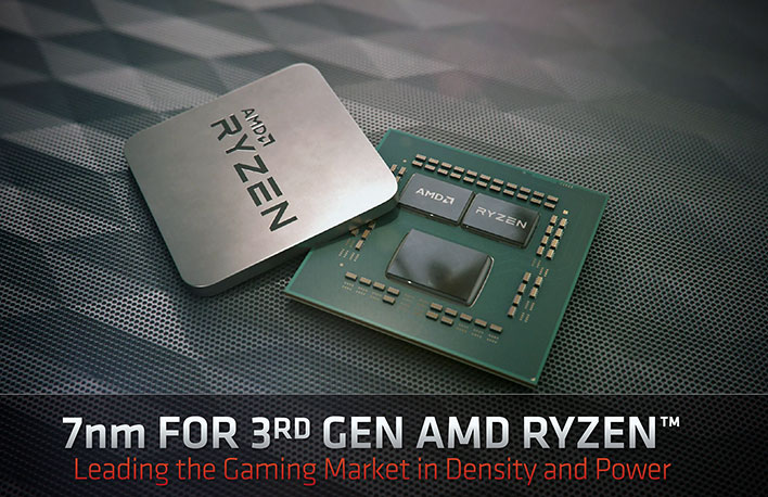 AMD 3rd Gen Ryzen architecture deep dive chip