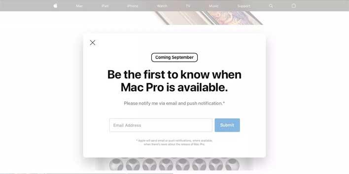 mac pro landing