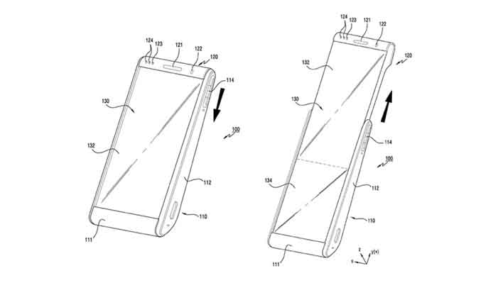 samsung rollable phone extended