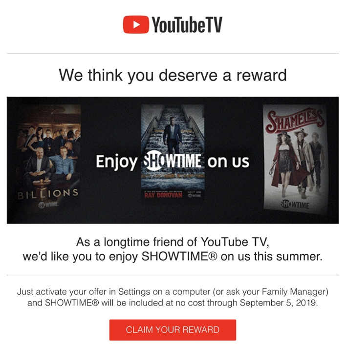 Youtube Tv Courts Cord Cutters With Free Showtime For The Summer Hothardware