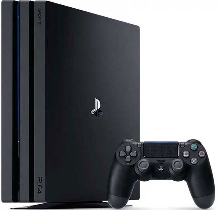 console and controller ps4 pro