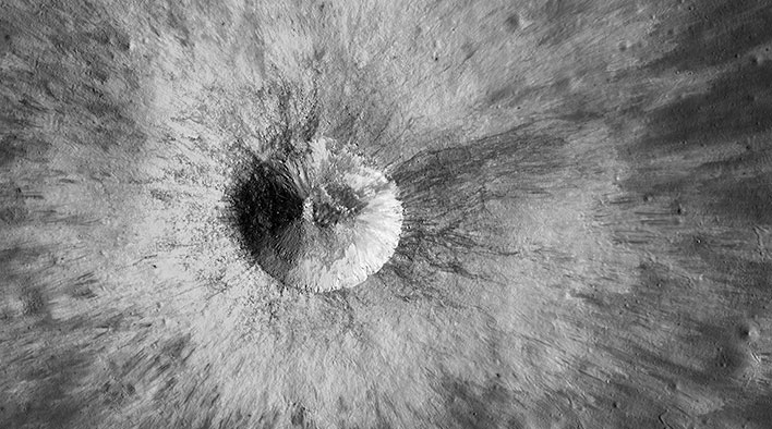 lunar crater nasa