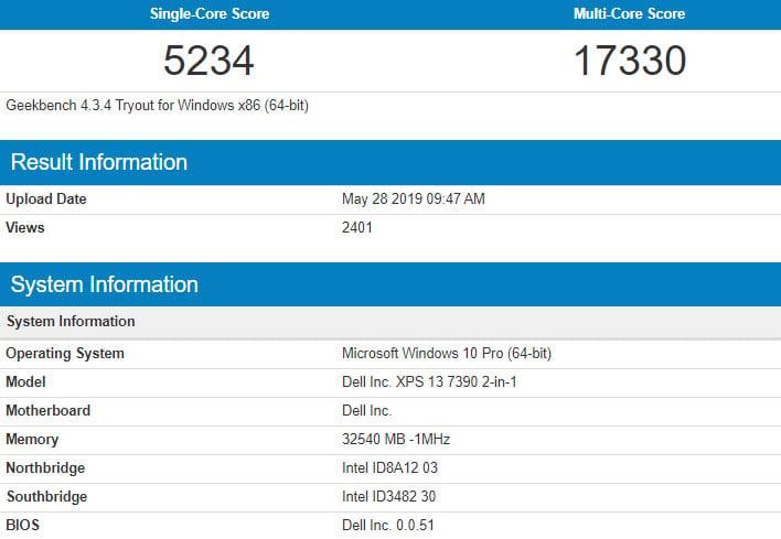 Intel Core i7-1065G7 10nm Ice Lake CPU Shows Big Performance Gains