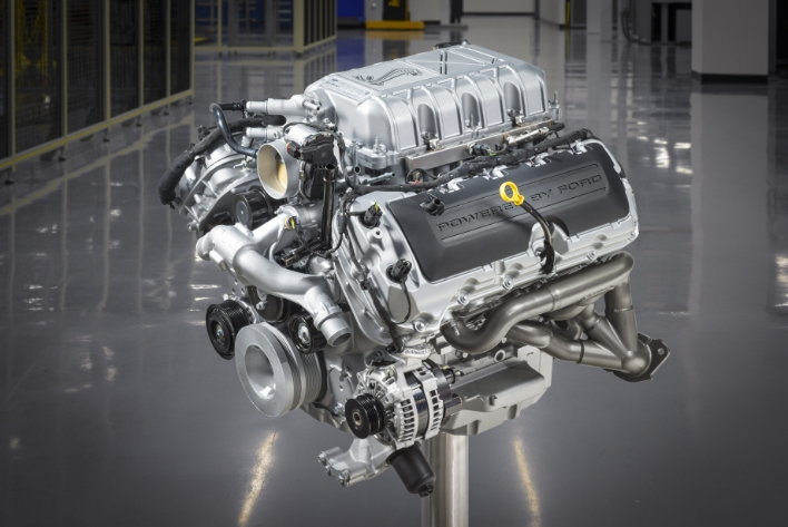 mustang shelby gt500 engine