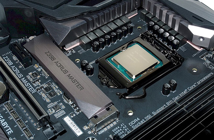 gigabyte z390 master power CPU socket