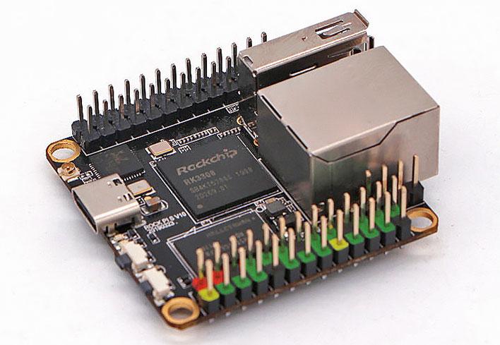 Rock Pi Single Board Computer Tiny
