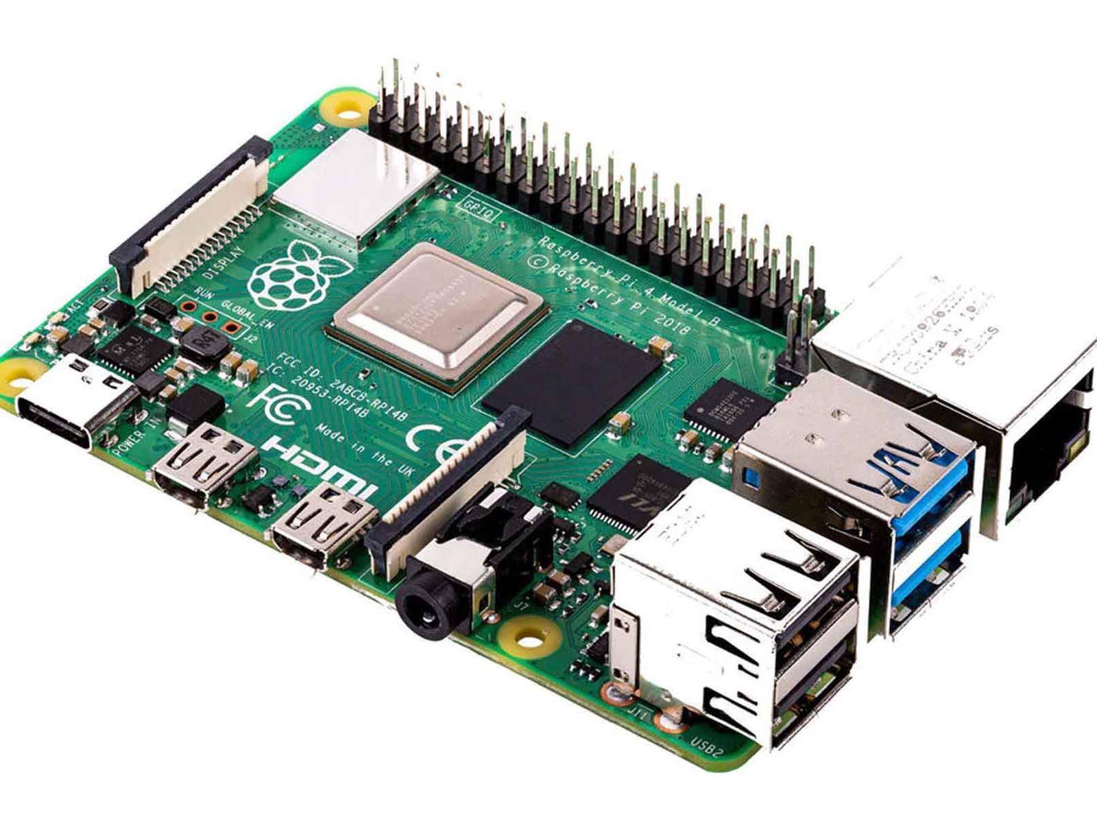 Raspberry Pi 4 Debuts With Dual 4K Display Support And Up To 4GB RAM