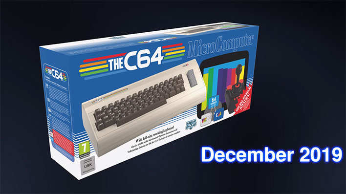 TheC64 Is A Full Size Commodore 64 Reboot For 1980s Retro