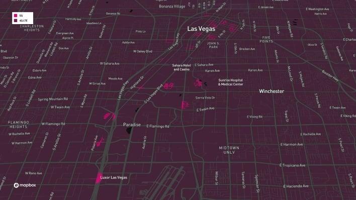las vegas coverage map