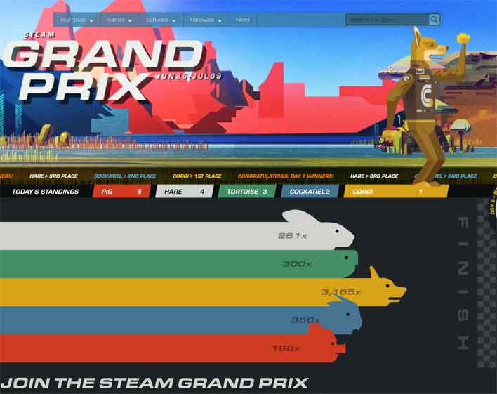 steam grand prix
