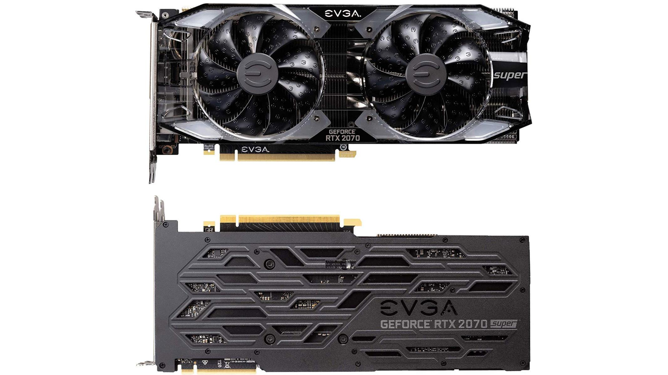 EVGA GeForce RTX 2060 Super And RTX 2070 Super Gaming Cards